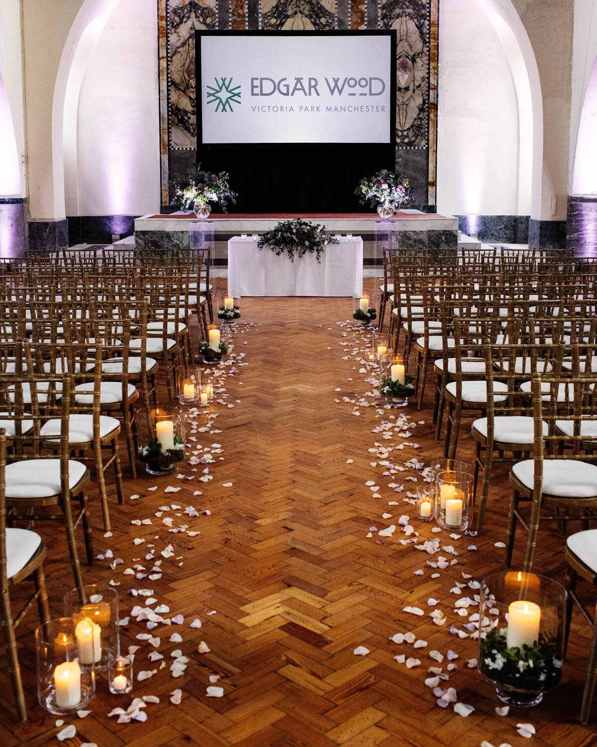 Wedding Ceremonies at Edgar Wood